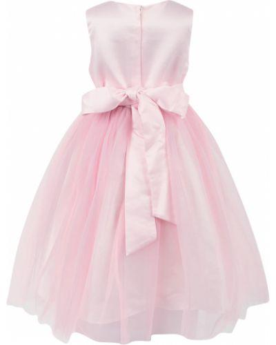 Платье хлопковое розовый Santa&barbara