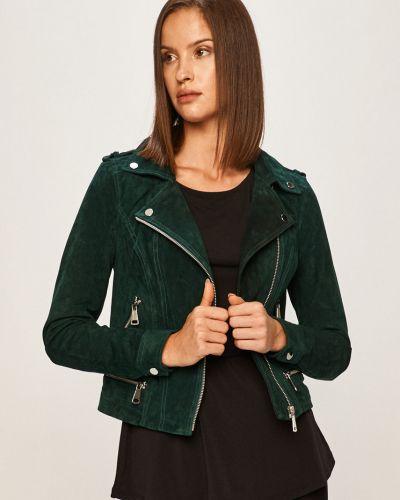 Кожаная куртка с капюшоном замшевая Vero Moda