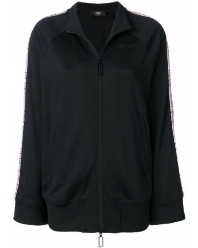 Черная спортивная куртка Versus