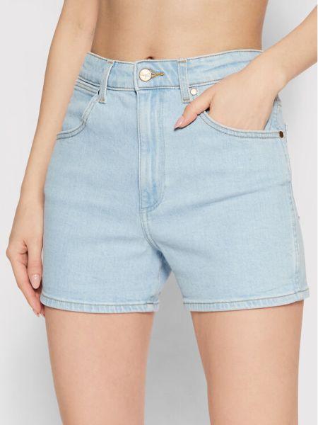 Szorty jeansowe - niebieskie Wrangler