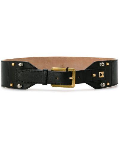 Ремень кожаный с заклепками Gucci