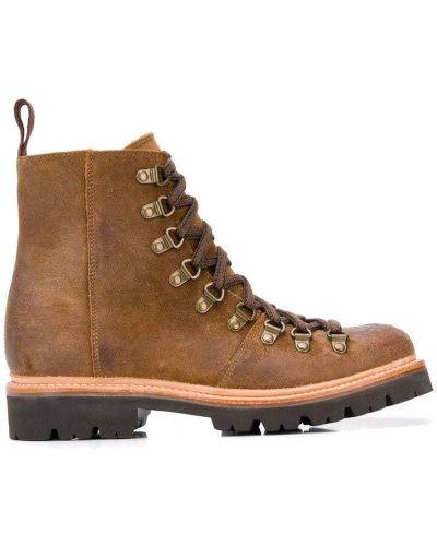 Ботинки на шнуровке с подкладкой на каблуке Grenson