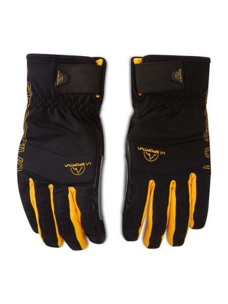 Czarne rękawiczki narciarskie La Sportiva
