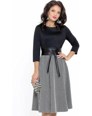 Платье с поясом платье-сарафан кожаное Dstrend