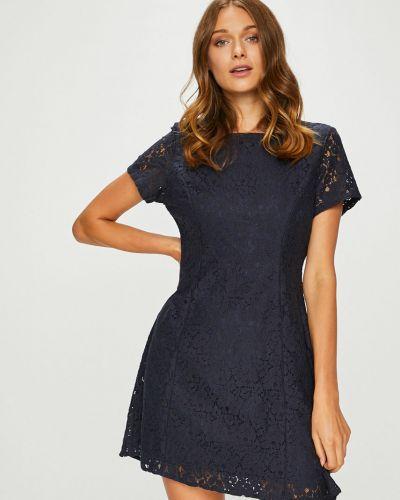 Платье мини на молнии с вырезом Answear