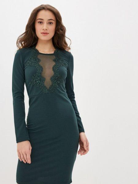 Зеленое клубное вечернее платье Concept Club