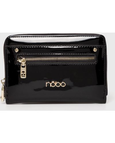 Кожаный кошелек на молнии из искусственной кожи Nobo