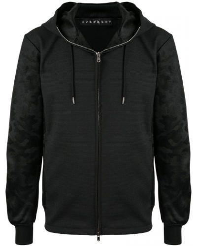 Черная куртка с капюшоном на молнии Roarguns