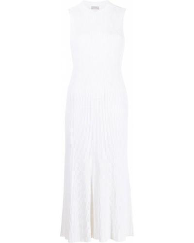 Biała sukienka z wiskozy Mrz