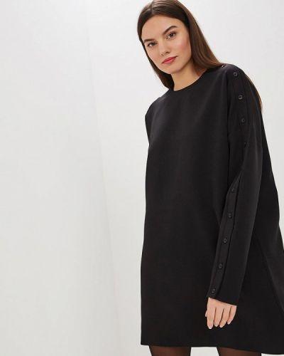 Платье осеннее черное Lavlan