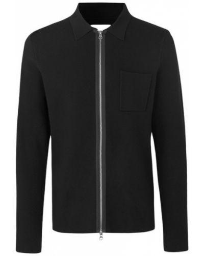 Czarny sweter z paskiem Samsoe Samsoe