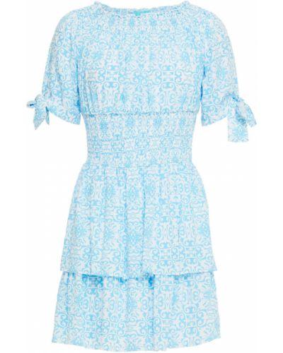 Платье мини - синее Melissa Odabash