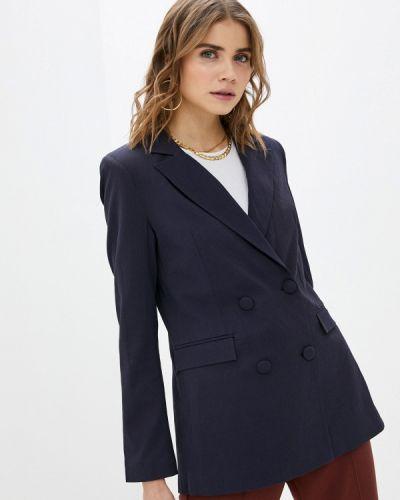 Синий пиджак Trendyol