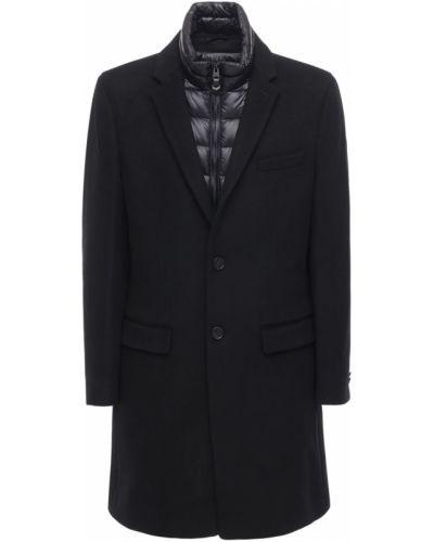 Пуховое пальто с воротником на пуговицах Mackage