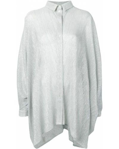 Блузка свободного кроя с манжетами Amen.