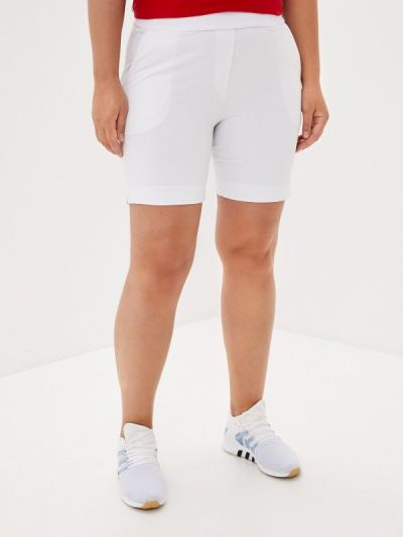 Белые повседневные шорты Lori