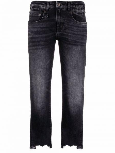 Прямые джинсы классические - черные R13