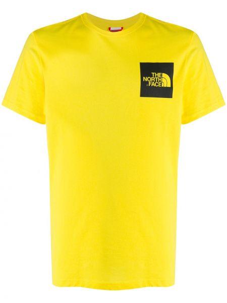 Koszula krótkie z krótkim rękawem z logo z łatami The North Face