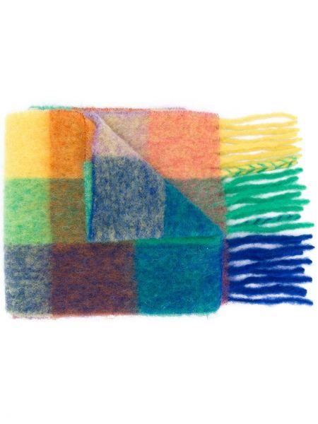 Синий шарф из мохера Acne Studios