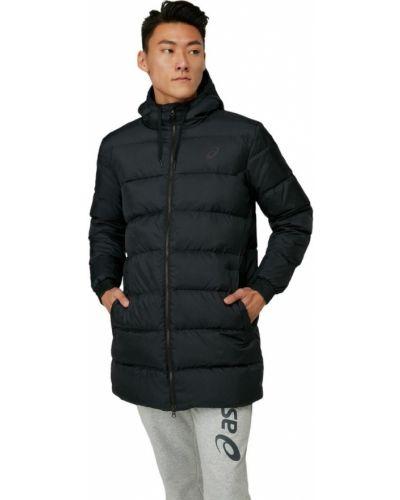 Пуховая куртка - черная Asics