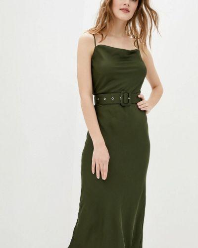 Зеленое платье Magnetic
