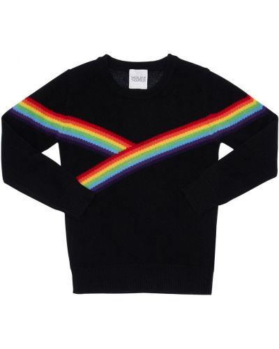 Кашемировая свитер с вырезом с рисунком Madeleine Thompson