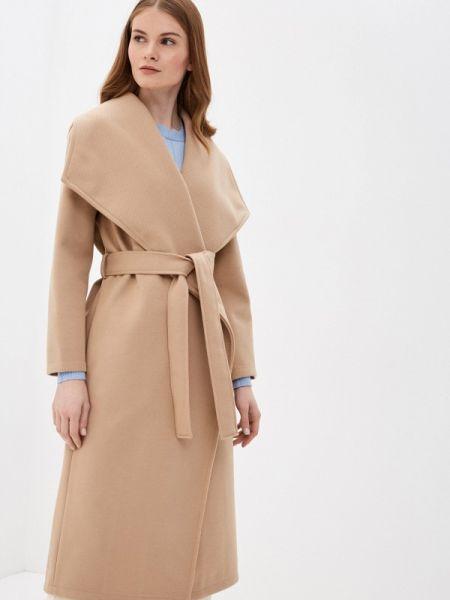 Пальто демисезонное бежевое Zarina