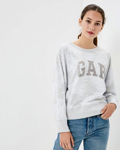 Серый свитшот Gap