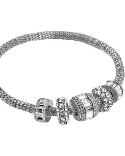 Серебряный браслет серебряного цвета Honey