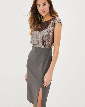 Платье - коричневое Krismarin