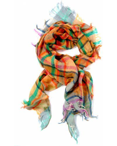 Бежевый платок хлопковый Passigatti