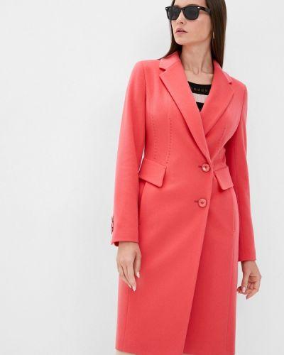 Розовое пальто Samos Fashion Group