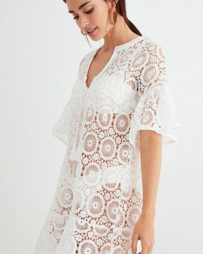 Пляжное белое платье Women'secret