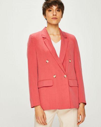 Классический пиджак розовый свободный Trendyol
