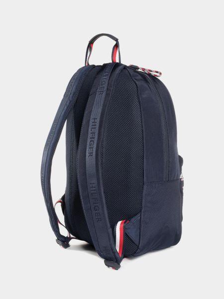 Синий рюкзак для ноутбука с карманами на молнии Tommy Hilfiger