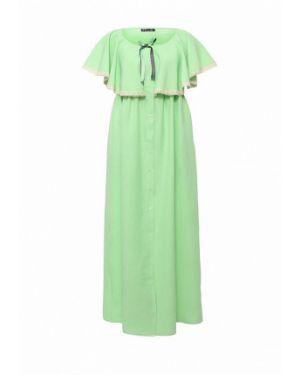 Платье весеннее зеленый Love & Light