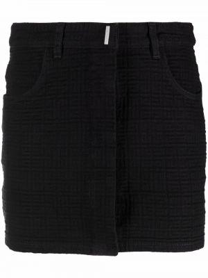 Spódniczka mini - czarna Givenchy