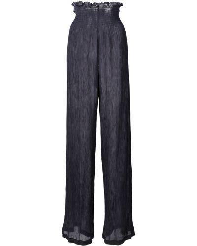 Черные свободные брюки с поясом Jill Stuart