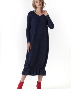 Платье с V-образным вырезом платье-сарафан Zip-art