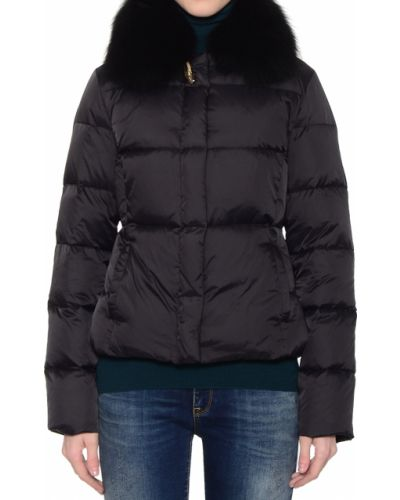 Черная куртка осенняя Cavalli Class
