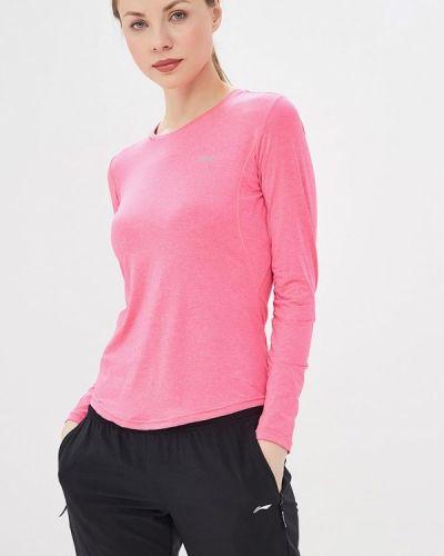 Спортивная лонгслив - розовая Li-ning
