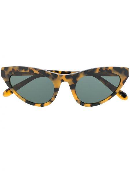 Муслиновые солнцезащитные очки хаки Han Kjøbenhavn