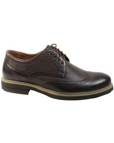 Кожаные туфли - коричневые Tonkelli