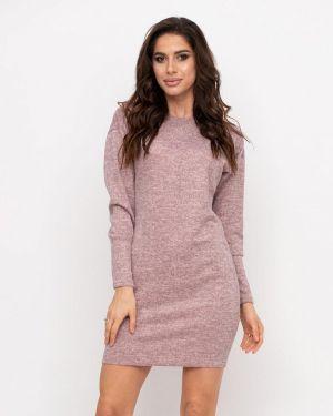 Розовое вязаное платье Magnet