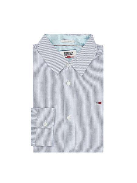 Koszula z długim rękawem dżinsowa w paski Tommy Jeans