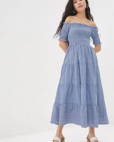 Платье с открытыми плечами весеннее Compania Fantastica