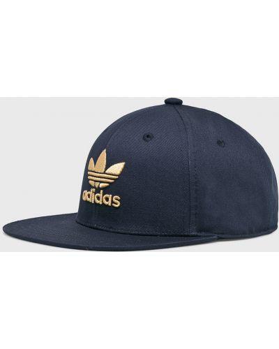 Шапка хлопковая темно-синий Adidas Originals