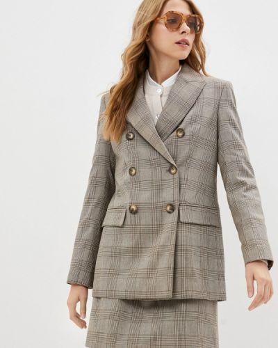 Бежевый зимний пиджак Lusio