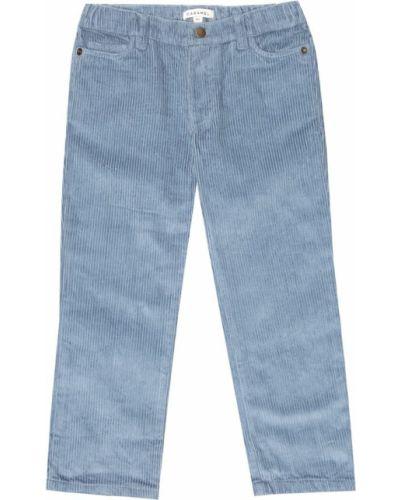 Ватные хлопковые синие брюки Caramel
