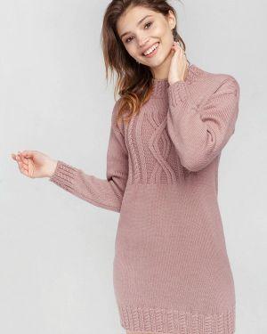 Клубное розовое платье Nataclub